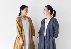 料理家・真藤さん×fog linen work・関根さん 制作インタビュー