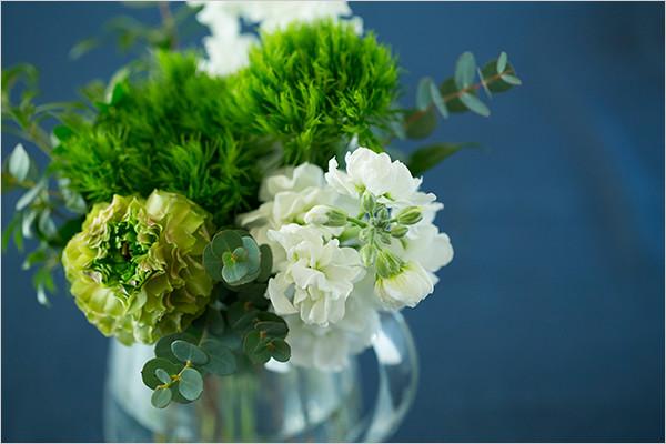 花を取り入れる
