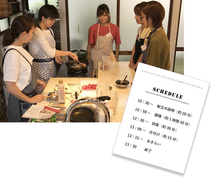 """柚木さとみさんに教わる""""料理教室の運営方法"""""""