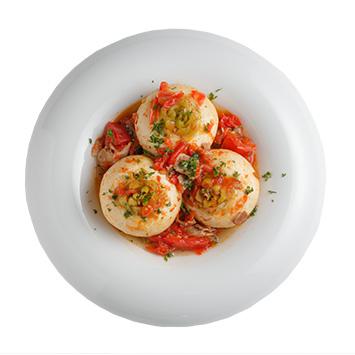 丸ごとカブのスパイシートマト煮