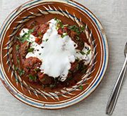 トルコ風ミートボールのトマト煮込み