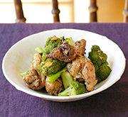 鶏とブロッコリーのマーマレード煮