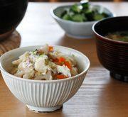 鯛と根菜の土鍋炊き込みごはん
