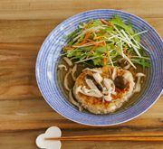 豆腐のふわふわハンバーグ