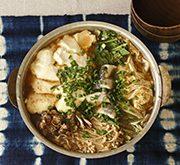 野菜とタラのゴマ味噌鍋
