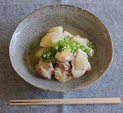鶏もも肉と長芋のさっと煮