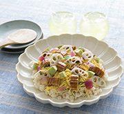 うなぎとアボカドの炊き込みちらし寿司