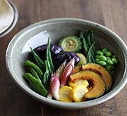 夏野菜の揚げ南蛮