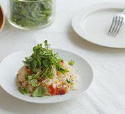 トマトとベーコンの炊き込みご飯