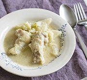 鶏肉と冬野菜のクリーム煮