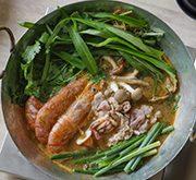 魚介のトムヤム味噌鍋
