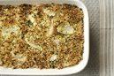 焼き大根とエリンギのハーブパン粉グラタン