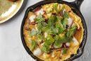 長芋とタコのチーズオムレツ