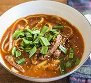 トマト牛肉湯麺