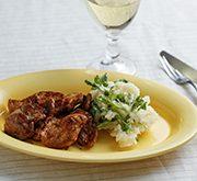 豚肉のバルサミコ醤油ソテー