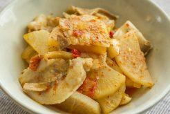 ブータン風豚バラ肉と大根の煮込み