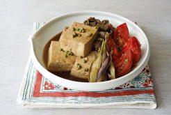 トマト肉豆腐