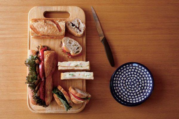 美味しいサンドイッチ作りは切り方・はさみ方で決まる