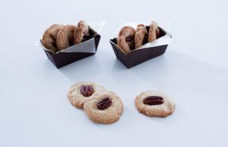 「おやつのまかない 全粒粉たっぷりのピーカンナッツクッキー」藤吉陽子