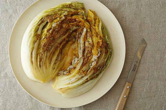 タラと白菜の蒸し焼き