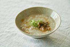 貝柱ともち米のおかゆ