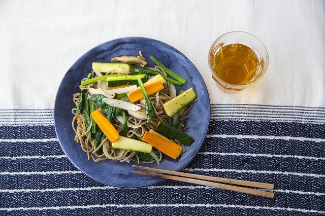 野菜の焼き蕎麦