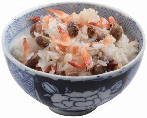 いり豆と桜海老ご飯