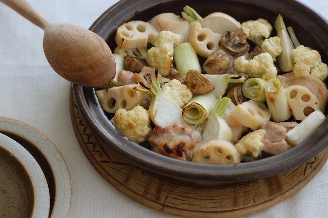 「わたしの胃袋ごはん 今夜はおうちパーティー鶏と白い冬野菜のオーブン焼き」暮らし上手のたまごさん 福田みなみ