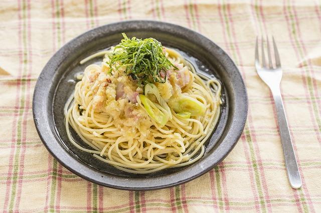 和風ジンジャーおろしスパゲティのレシピ ショウガで体あたたまる 和風